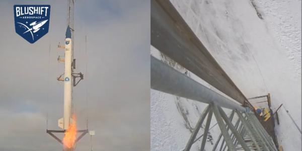 Стартап bluShift Aerospace: Впервые в своей истории штат Мэн запустил первую в мире ракету на биотопливе