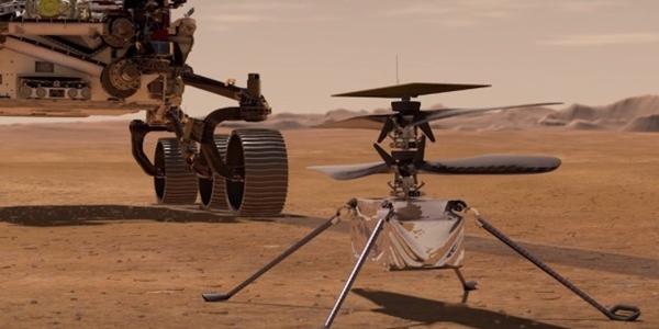 Первый полет первого космического вертолета Ingenuity и начало выработки кислорода на Марсе