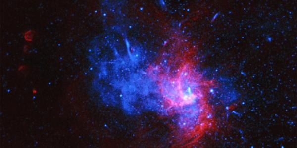 В центре Млечного пути найден реликт суперновой, аналога которому в нашей системе нет