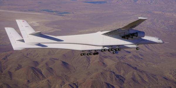 Второй испытательный полет самого большого в мире гиперзвукового самолета Stratolaunch