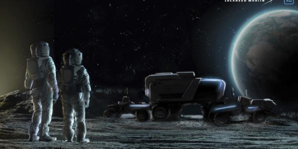 Сюрприз от General Motors: внедорожный самоходный вездеход для лунного бездорожья?