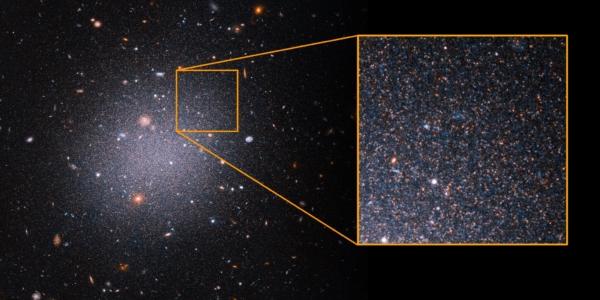 Хаббл показал, что в галактиках отсутствует темная материя
