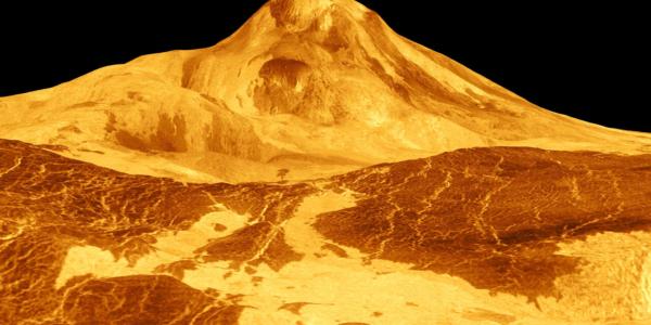 Новое исследование выявило вулканическую активность на Венере