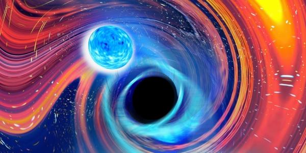 Первое зафиксированное слияние черной дыры и нейтронной звезды